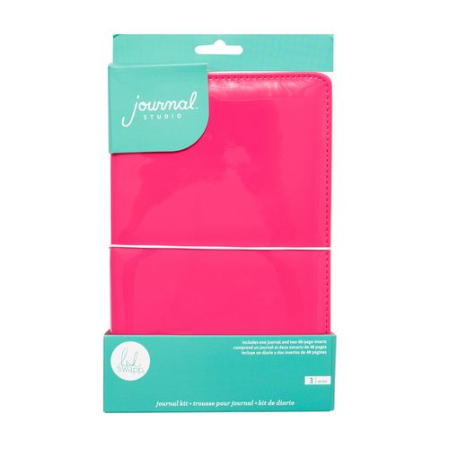 Caderno-para-Diario-e-Lettering-We-R-Memory-Keepers-Journal-Studio-Hot-Pink---314439-–-WER341