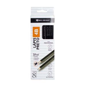 Lapis-Grafite-4B-Bee-Unique-com-8-Unidades-–-OD-–-PC0003