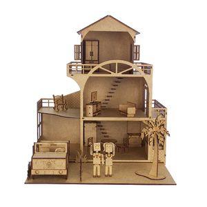 Kit-Casinha-Tradicional-Woodplan-CLB-com-15-Moveis---A049