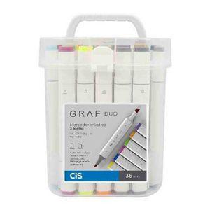 Marcador-Artistico-Ponta-Dupla-Cis-Graf-Duo-Brush-36-Cores