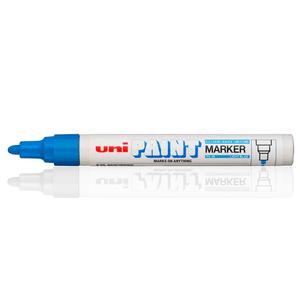 caneta-marcador-uni-paint-maker-blue
