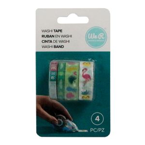 Kit-Fita-Adesiva-Washi-Tape-tropical-We-R-Memory-Keepers-com-4-Pecas-–-tropical-Washi-Tapes-21771-WER400-660674