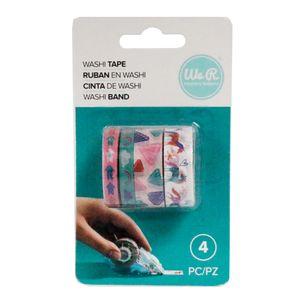 Kit-Fita-Adesiva-Washi-Tapes-Unicornio-We-R-Memory-Keepers-com-4-Pecas---Unicorn-Washi-Tapes-WER401---660653