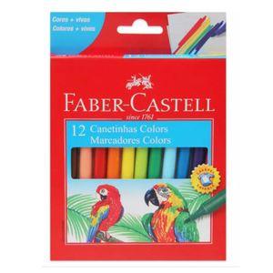 Canetinhas-Hidrograficas-Colors-Faber-Castell-com-12-Cores---Marcadores-Colors-15.0112CZF-0