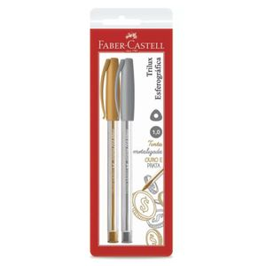 Canetas-Esferograficas-1.0-MM-Trilux-032-Faber-Castell-com-02-Unidades-SM-032PO