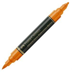 Marcador_Pincel_Albrecht_Durer_Aquarelavel_Faber-Castell_113_Orange_glaze-1