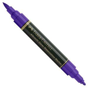 Marcador_Pincel_Albrecht_Durer_Aquarelavel_Faber-Castell_136_Purple_Violet