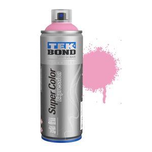 Tinta-Aerossol-Tekbon-Expression-527-Rosa-Candy-400ml