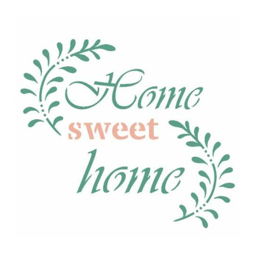 Stencil-de-Acetato-para-Pintura-OPA-Simples--10-x-10-cm-–-2989-Frase-Home-Sweet-Home