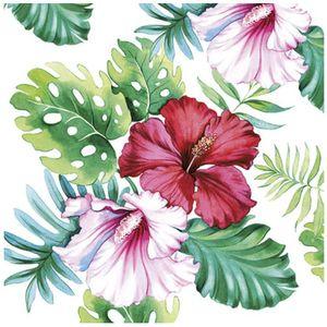 Guardanapo-para-Decoupage-Ambiente-com-20-Unidades-Hibiscus-Floral-White-13313145