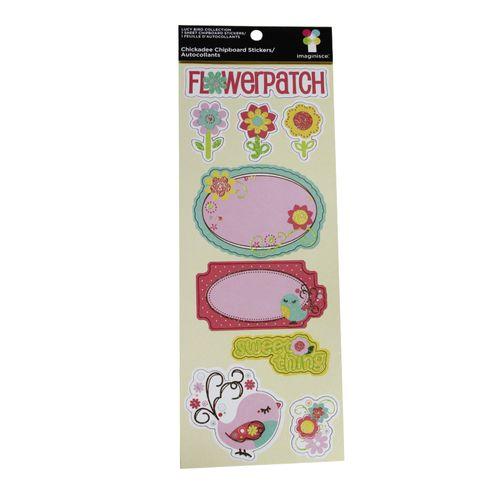 Adesivo-Autocolantes-Menina-Imaginisce-Chickadee-Chipboard-Stickers-001907