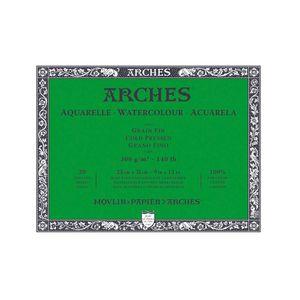 Bloco-para-Aquarela-Arches-Grao-Fino-Branco-Natural-23x31-cm-20-Folhas-300g