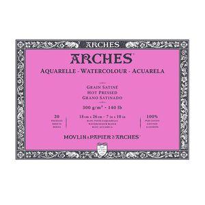 Bloco-para-Aquarela-Arches-Grao-Satinado-Branco-Natural-18x26-cm-20-Folhas-300g