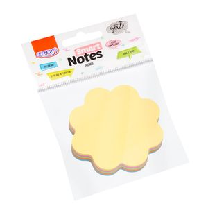 Bloco-Smart-Notes-70x70mm-flower-pastel-100folhas-BA0007