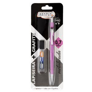 Lapiseira-Tenica-0.7mm-rosa-metalizado-LP0706