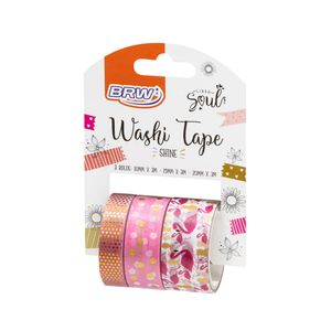 Fita-adesiva-washi-tape-shine-flamingo-WT0403