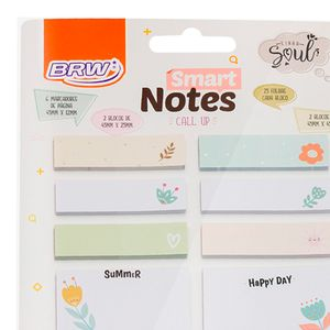 Bloco-Smart-Notes-call-up-floral-25folhas-10blocos-BA0601-3
