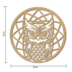 Mandala-em-Pinus-Momento-Divertido-coruja-sabedoria-30x30cm–2247-1