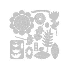 Faca-de-Corte-Sizzix-Floral-Tropics-15-Pecas-663854-1