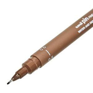 Estojo-de-Canetas-Fineliner-Uni-Pin-Uniball-Drawing-Pen-Preto-e-Sepia-3-Pecas-2