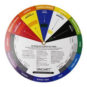Disco-de-Cores-Circulo-Cromatico-Sinoart-Pequeno-23cm–SFA238-D23