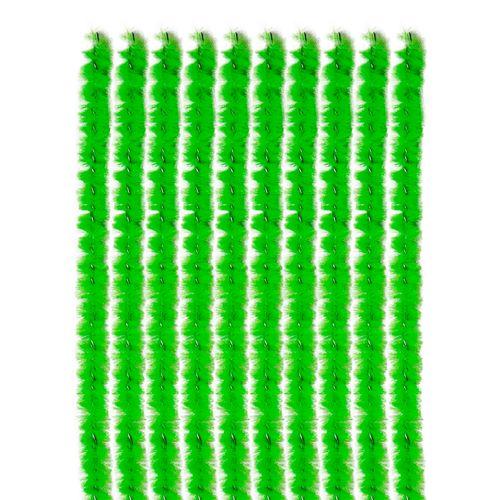 arame-encapado-em-chenille-30cm-verde-10unid