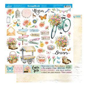 Pagina-para-Scrapbook-Dupla-Face-Litoarte-305-x-305-cm-Modelo-SD-1164-Colecao-Encanto