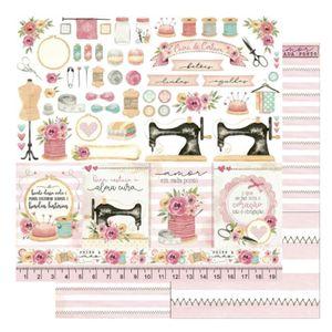 Pagina-para-Scrapbook-Dupla-Face-Litoarte-305-x-305-cm-Modelo-SD-1169-Folha-costura-recorte