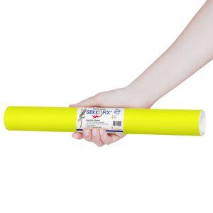 Plastico-Adesivo-Gekkofix-Fluor-Amarelo-45-cmx2m–11440BR-1