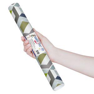 Plastico-Adesivo-Gekkofix-Favos-3D-45-cmx200cm–13769BR