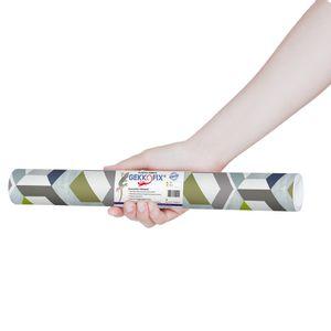 Plastico-Adesivo-Gekkofix-Favos-3D-45-cmx200cm–13769BR-1