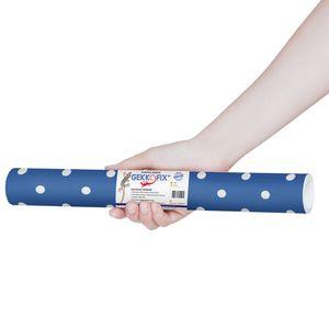 Plastico-Adesivo-Gekkofix-Poa-branco-azul-45-cmx200cm–12702BR-1
