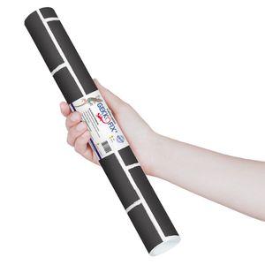 Plastico-Adesivo-Gekkofix-tijolo-preto-45-cmx2m–13564BR