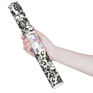 Plastico-Adesivo-Gekkofix-arabesco-branco-preto-45-cmx200cm–10247BR