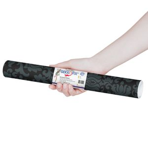 Plastico-Adesivo-Gekkofix-arabesco-negro-45-cmx200m–10108BR-1