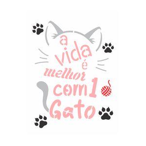 OPA3026-pet-frase-a-vida-e-melhor-com-1-gato-15x20cm