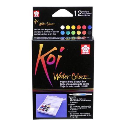 estojo-aquarela-koi-12-coreswater-colors