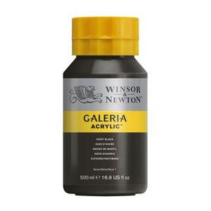 Tinta-Acrilica-Galeria-Winsor---Newton-500-ml-331-ivory-black