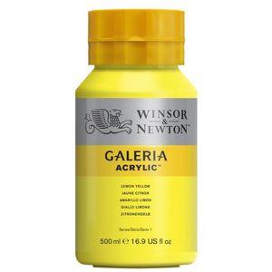 Tinta-Acrilica-Galeria-Winsor---Newton-500-ml–346-lemon-yellow