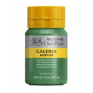 Tinta-Acrilica-Galeria-Winsor---Newton-250-ml–484-Permanent-green-Middle