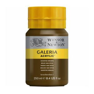 Tinta-Acrilica-Galeria-Winsor---Newton-250-ml–676-Van-Dick-Brown