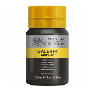 Tinta-Acrilica-Galeria-Winsor---Newton-250-ml–331-Ivory-Black