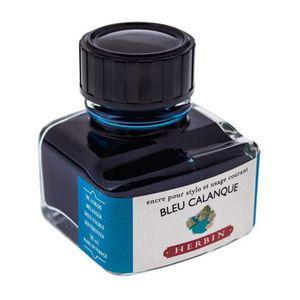 Tinta-para-Caneta-Tinteiro-Herbin-La-Perle-des-Encres-30ml-Bleu-Calanque