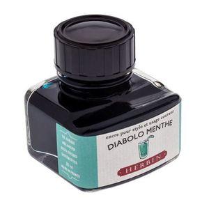 Tinta-para-Caneta-Tinteiro-Herbin-La-Perle-des-Encres-30ml-Diabolo-Menthe