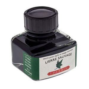 Tinta-para-Caneta-Tinteiro-Herbin-La-Perle-des-Encres-30ml-Lierre-Sauvage