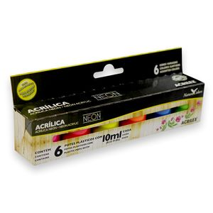 Kit-tinta-Acrilica-Neon-Nature-Colors-Acrilex-10ml-Com-6Unidades-b