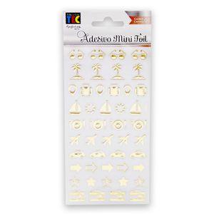 Adesivo-Mini-Foil-Toke-e-Crie-206x90mm-Dourado-Viagem-20955-AD1930-b