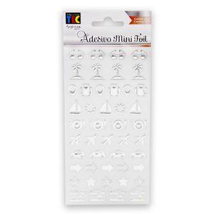 Adesivo-Mini-Foil-Toke-e-Crie-206x90mm-Prata-Viagem-20956-AD1931