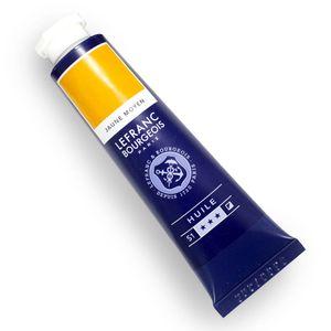 Tinta-oleo-Fine-Lefranc-Bourgeois-40ml-198-medium-yellow-810004-SKU178704