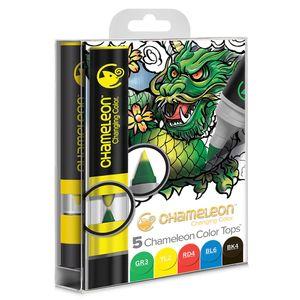 Kit-com-05-canetas-artisticas-chameleon-color-tops-cores-primarias-CT4502-153792